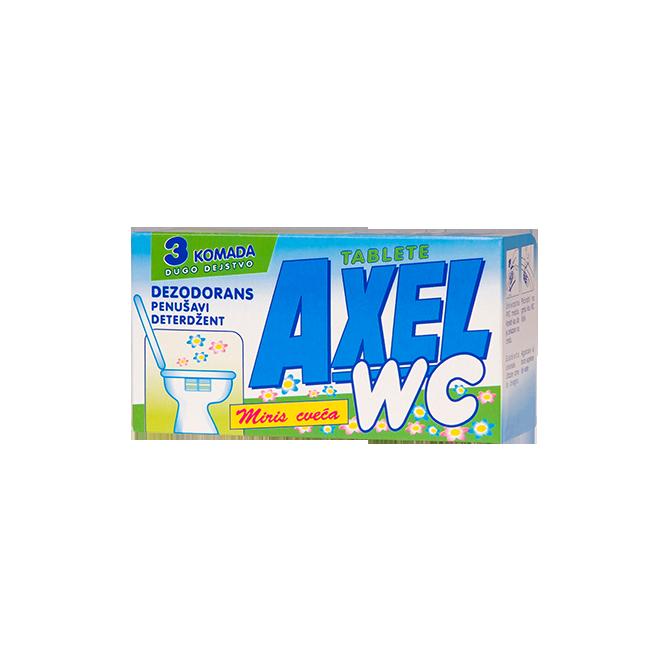 AXEL wc osveživaČ  cveĆe 33x3   Uradi Sam Doo