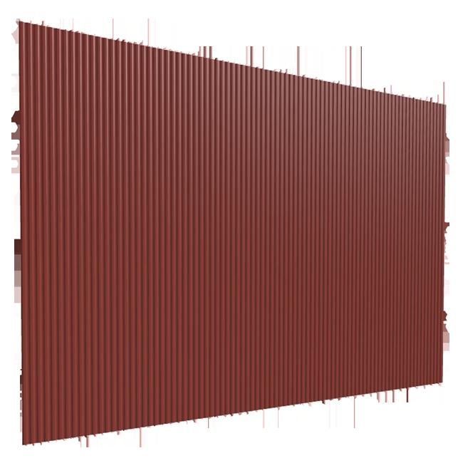 TRAPEZNI PROFIL TR10/100 DUBINE 10MM 1,135X2M CRVENI ( 2.27m2 | Uradi Sam Doo