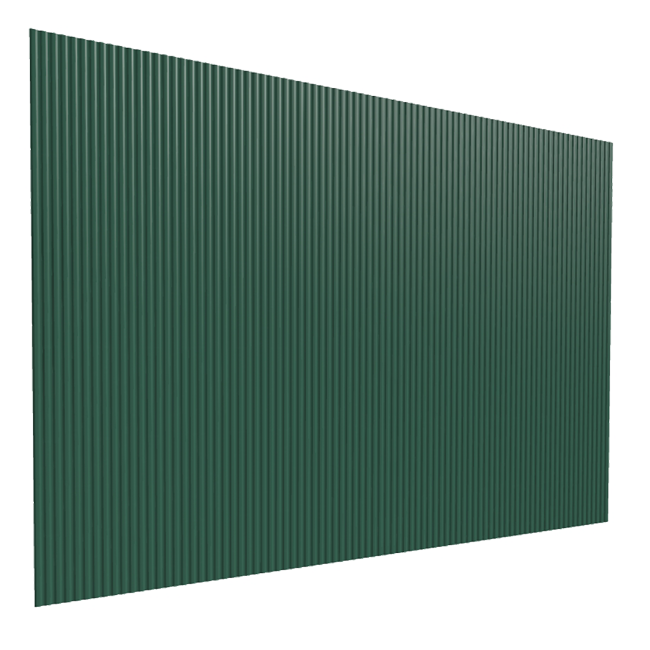 TRAPEZNI PROFIL TR10/100 DUBINE 10MM 1,135X3M ZELENI ( 3.4m2 ) | Uradi Sam Doo
