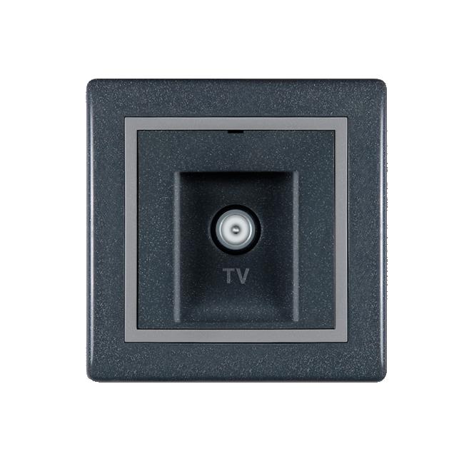 Priključnica tv završna antaracit 612i.212 | Uradi Sam Doo