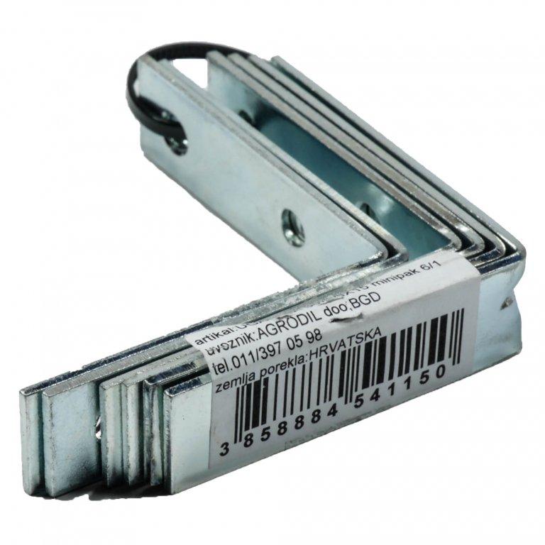 UGAONIK 1,5mm 50X50X15 6KOM | Uradi Sam Doo