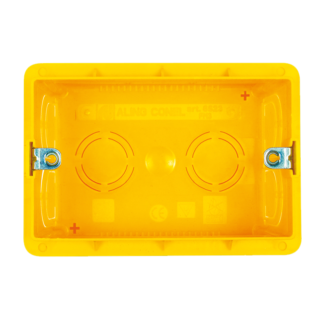 Modul kutija trostruka u zid | Uradi Sam Doo