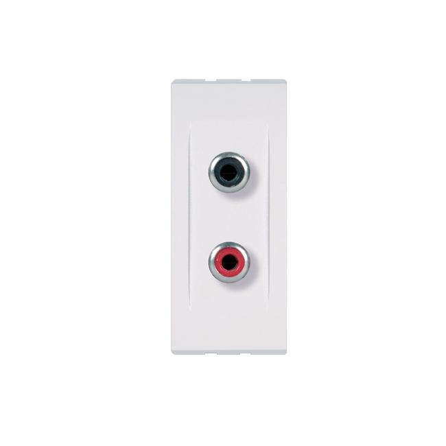 Modul audio prik.rca dvostruka 1m bela | Uradi Sam Doo