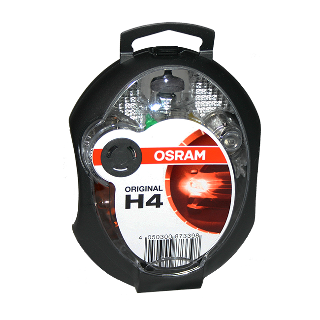 SIJALICE OSRAM GARNITURA  EUROBOX H - 4  12V 60/55W | Uradi sam