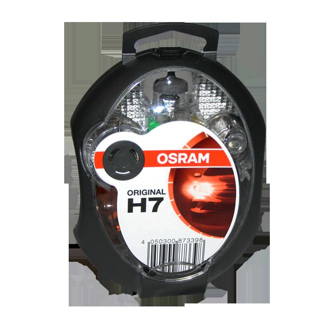 SIJALICE OSRAM GARNITURA  EUROBOX H - 7 12V 55W | Uradi sam