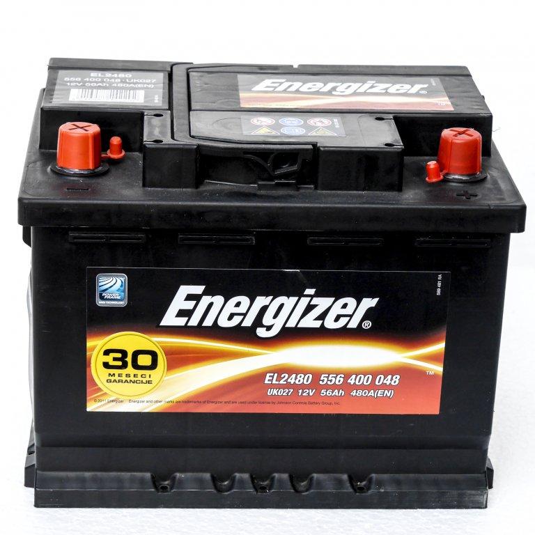 AKUMULATOR 12V 56Ah D ENERGIZER STANDARD | Uradi sam