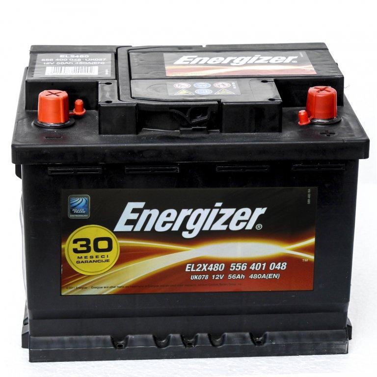 AKUMULATOR 12V 56Ah L ENERGIZER STANDARD | Uradi sam