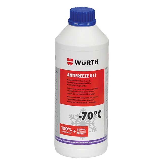 ANTIFRIZ G11 100 WURTH 1 5l | Uradi sam