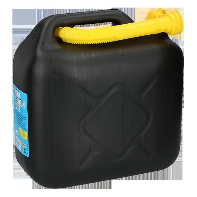 KANISTER PLASTIČNI  za benzin  10 litara  CRNI | Uradi sam