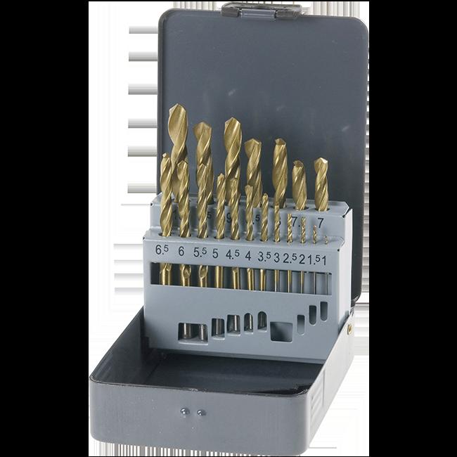 BURGIJA ZA GVOŽĐE SET 1-10mm 19KOM. ( KRAFTIX ) | Uradi Sam Doo