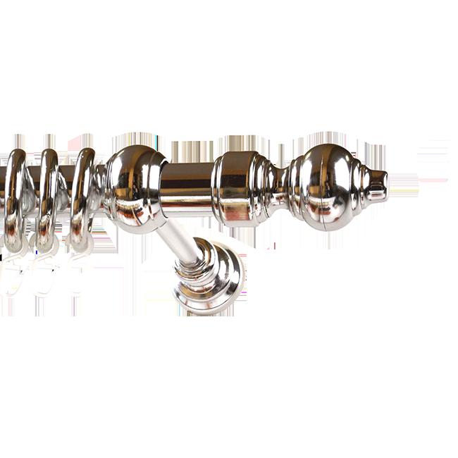 GARNIŠNA PVC SET 28mm HROM 200cm   Uradi Sam Doo