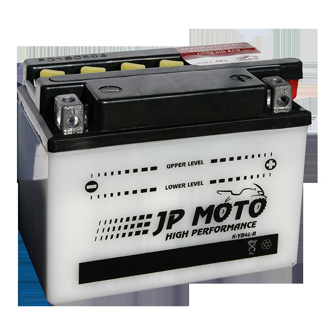 AKUMULATOR 12V-4 AH D JP MOTO | Uradi sam