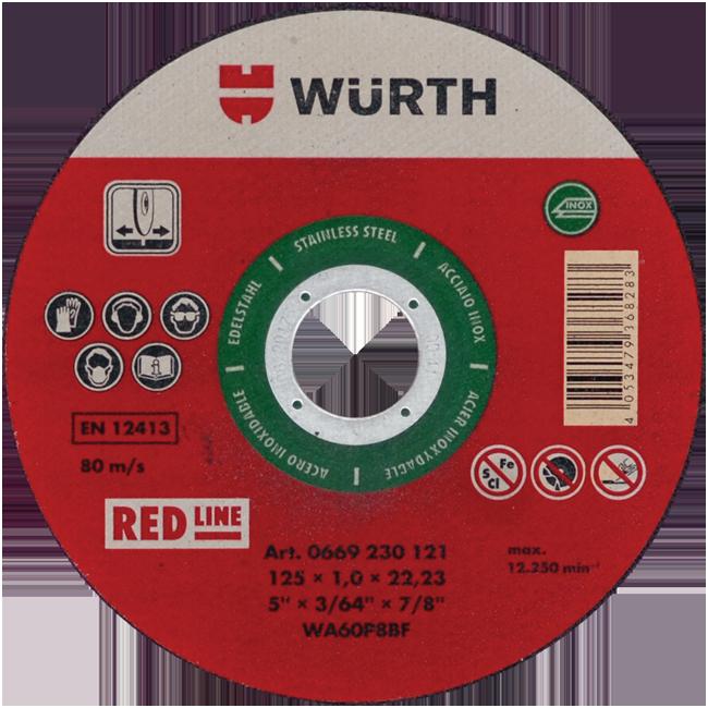 REZNA PLOČA RED LINE 230X1.8/22.23MM INOX | Uradi Sam Doo