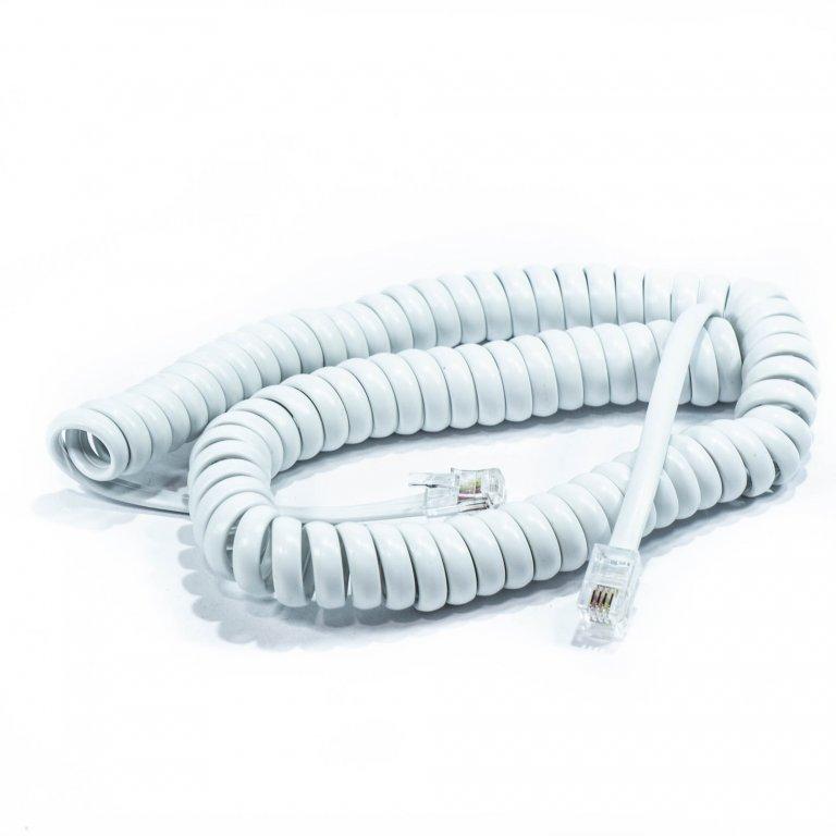 KABAL TELEFONSKI SPIRALNI 3M BELI MT  | Uradi Sam Doo