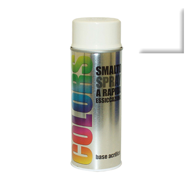 SPRAY COLORS RAL 9010 MAT 400ml