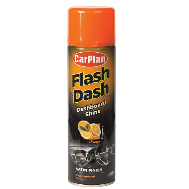 KOKPIT SPREJ FLASH DASH 500ML POMORANDŽA