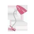 Lampa stona pink  e27,40w sa štipaljkom | Uradi Sam Doo