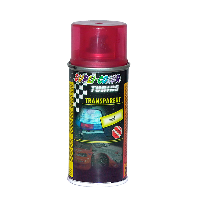 AUTO SPRAY TRANSPARENT CRVENI 150ML | Uradi sam