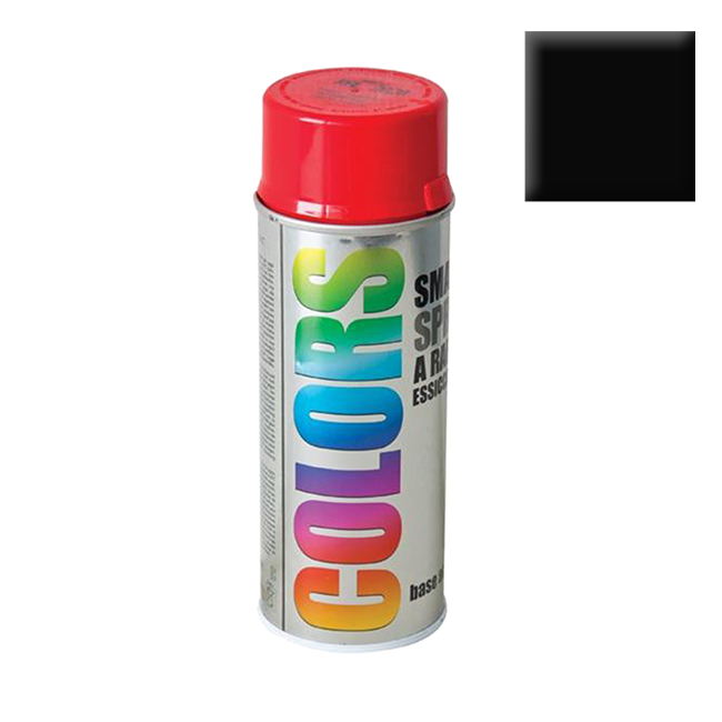 SPRAY COLORS RAL 9005 MAT 400ml