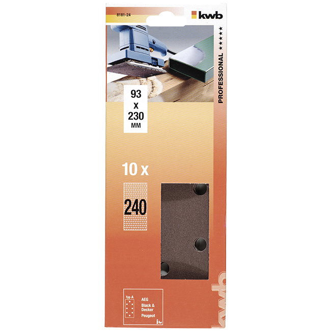 TRAKA BRUSNA 93X230MM  K240 | Uradi sam