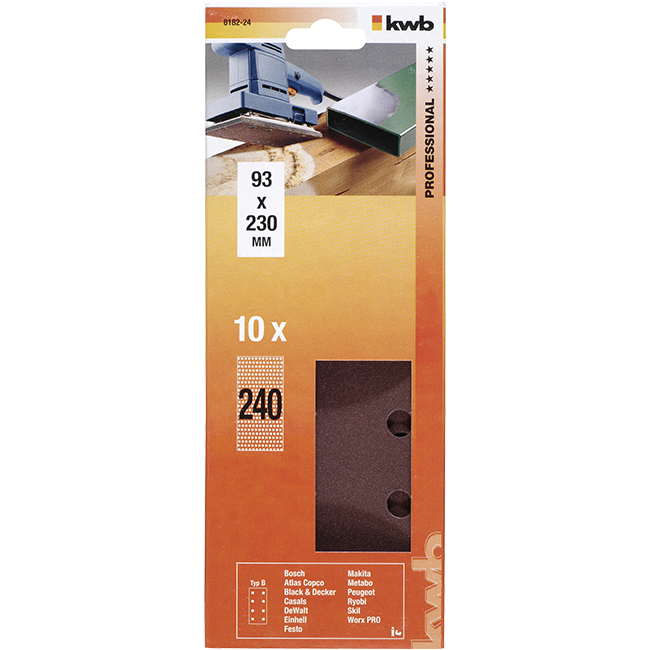 TRAKA BRUSNA 93X230MM, K240 | Uradi Sam Doo