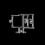 PROFIL  ALU.KANT SM-48   3.0m  za 18mm
