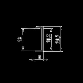 PROFIL  ALU.KANT SM-48  za 18mm  - 3.0m | Uradi Sam Doo