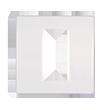 Modul maska 1m bela | Uradi Sam Doo